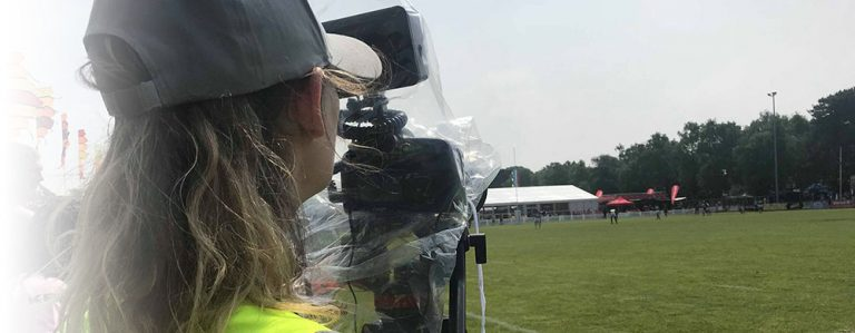 Group Visual LTD. Camera operator at Bournemouth 7s Festival
