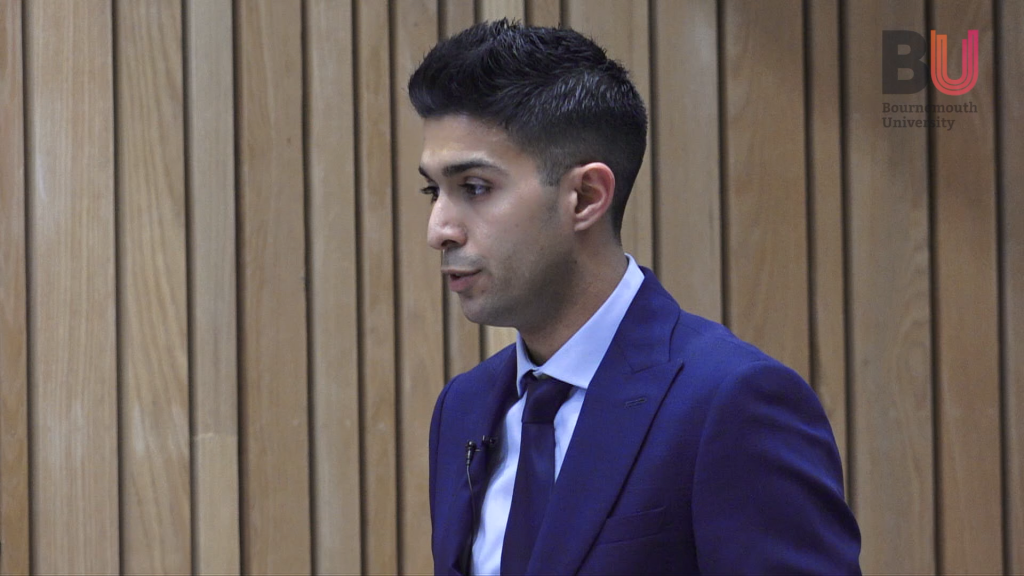 Nicholas Auriana speaks at the Family Law Symposium at Bournemouth University